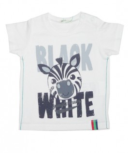 Tricou Benetton Black and White COD BNT21
