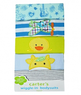 Set 5 bodyuri Carters cu maneca lunga SBD1
