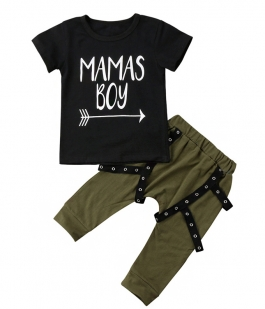 Set kaki Mamas boy