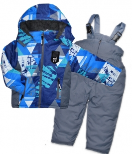 Costum de sky Grafitti blue