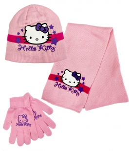 Set Hello Kitty din 3 piese