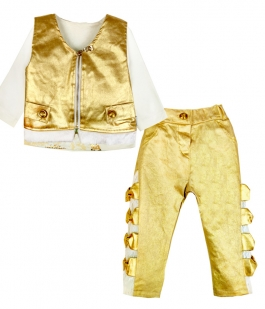 Costum bebe Golden Star