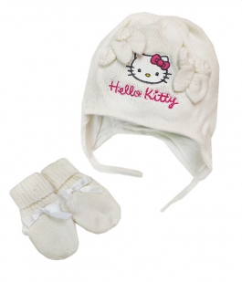 Set Hello Kitty cu manusi